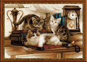 RIOLIS Furry Friends Cross Stitch Kit