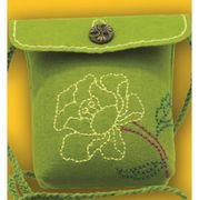 Kleiber Green Rose Bag Small Craft Kit