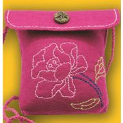 Kleiber Pink Rose Bag Small Craft Kit