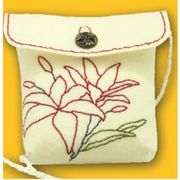 Kleiber White Rose Bag Small Craft Kit