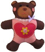 Kleiber Bear Felt Kit Craft Kit