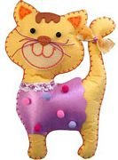 Kleiber Cat Felt Kit Craft Kit