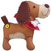 Kleiber Dog Felt Kit Craft Kit