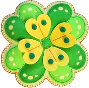 Kleiber Clover Leaf Felt Kit Craft Kit