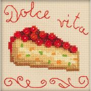 RIOLIS Berry Cake Cross Stitch Kit