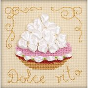 RIOLIS Cake Basket Cross Stitch Kit