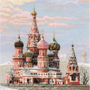 RIOLIS St Basil's Cathedral Cross Stitch Kit