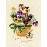 RIOLIS Happy Birthday Cross Stitch Kit