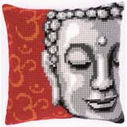 Lady Buddha Cushion - Vervaco Cross Stitch Kit