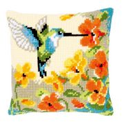 Vervaco Hummingbird Cushion Cross Stitch Kit