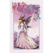 Vervaco Purple Fairy Cross Stitch Kit