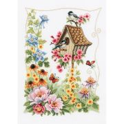 Vervaco The Bird House Cross Stitch Kit