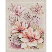 Vervaco Peony Cross Stitch Kit