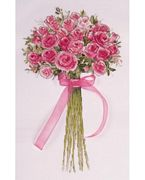 Design Works Crafts Rose Bouquet Cross Stitch Kit