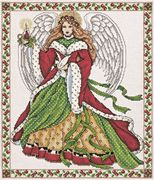 Design Works Crafts Christmas Angel Cross Stitch Kit