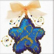 RIOLIS Magic Star Bead Kit Christmas Cross Stitch