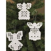 Hardanger Angels I - Permin Embroidery Kit