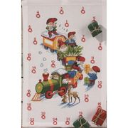 Permin Christmas Train Advent Cross Stitch Kit