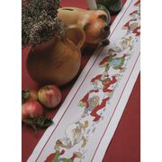 Elf Parade Runner - Permin Cross Stitch Kit