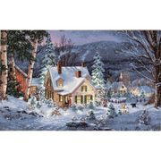 Dimensions Winter's Hush Christmas Cross Stitch Kit