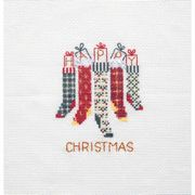 Derwentwater Designs Christmas Stockings Christmas Card Making Cross Stitch Kit