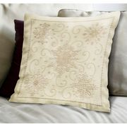 Janlynn Snowflake Pillow Embroidery Kit
