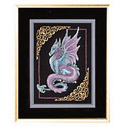 Janlynn Mythical Dragon Cross Stitch Kit