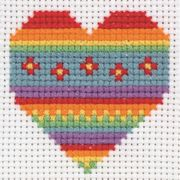Anchor Heart Cross Stitch Kit