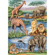 African Wildlife - Maia Cross Stitch Kit