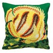 Collection D'Art Tropical Fish Cross Stitch Kit