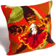 Collection D'Art Tiger Orchid Cross Stitch Kit