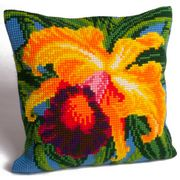Collection D'Art Paradise Orchid Cross Stitch Kit