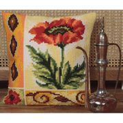Collection D'Art Valiant Poppy Cross Stitch Kit