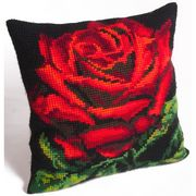 Collection D'Art Damask Rose Cross Stitch Kit