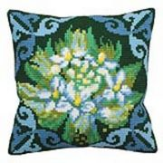 Collection D'Art Blue Ledum Cross Stitch Kit