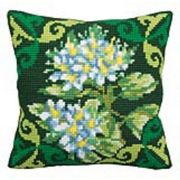 Collection D'Art Green Ledum Cross Stitch Kit