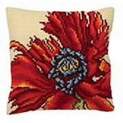 Collection D'Art Extravagant Poppy Cross Stitch Kit