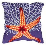 Collection D'Art White Starfish Cross Stitch Kit