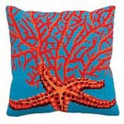 Collection D'Art Red Starfish Cross Stitch Kit