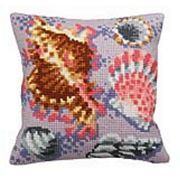 Pastel Fossils I - Collection D'Art Cross Stitch Kit
