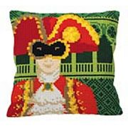 Venice Carnival Man - Collection D'Art Cross Stitch Kit