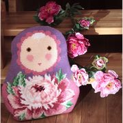 Collection D'Art Baba Peony Cross Stitch Kit