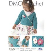 DMC Girls Wrap-Over Cardigan