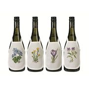 Flowers Wine Aprons - Permin Cross Stitch Kit