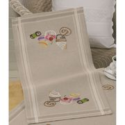Permin Cupcakes Runner Embroidery Kit