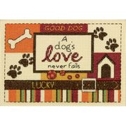 Dimensions A Dog's Love Cross Stitch Kit
