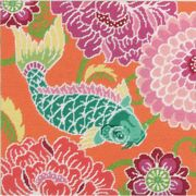 Koi with Flowers - Dimensions Tapestry Kit