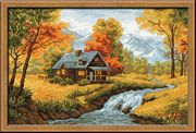 RIOLIS Autumn View Cross Stitch Kit