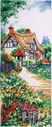 Design Works Crafts Thatched Cottage Cross Stitch Kit