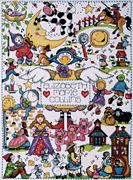 Design Works Crafts Nursery Rhymes Birth Sampler Cross Stitch Kit
